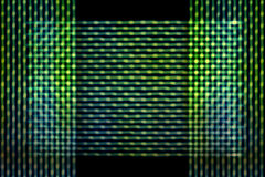 Líneas Verdes de la falta de definición Imagenes de archivo