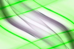 Líneas Verdes extracto imagenes de archivo