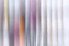 Líneas verticales coloreadas de la pendiente imagen de archivo