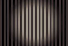 Líneas verticales con el círculo central que brilla intensamente Imágenes de archivo libres de regalías