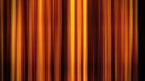 Líneas verticales que brillan intensamente fondo del oro del gráfico del movimiento del lazo