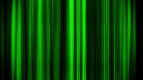 Líneas verticales que brillan intensamente verdes fondo del gráfico del movimiento del lazo