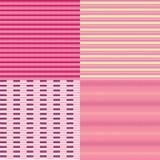 Líneas y Dots Seamless Pattern Backgrounds. Imágenes de archivo libres de regalías