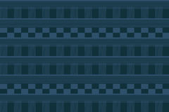 Líneas y rectángulos del ejemplo azules stock de ilustración