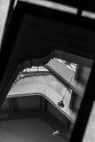 Líneas y reflexiones Imagen de archivo