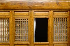 Líneas y textura de la ventana foto de archivo libre de regalías