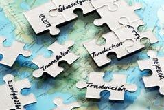 Línguas de mundo Imagem de Stock