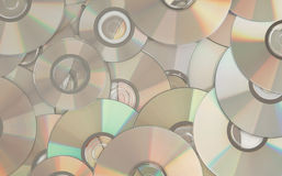 Lío de Cdes imagen de archivo libre de regalías
