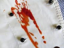 Lío del odio de la comida del amor Imagen de archivo libre de regalías