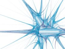líquido 3D no movimento Fotos de Stock Royalty Free