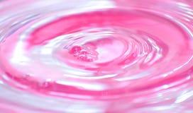 Líquido cor-de-rosa fotografia de stock