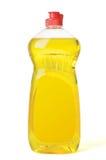 Líquido da lavagem da louça do frasco foto de stock