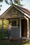Líquido de limpeza da cabine Foto de Stock Royalty Free