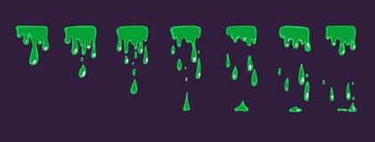 Líquido do duende da animação ilustração do vetor