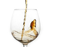 Líquido no vidro Imagem de Stock Royalty Free
