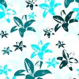 Lírios azuis Imagem de Stock Royalty Free