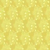 Lírios da flor do vale Teste padrão sem emenda de matéria têxtil do papel de parede ilustração stock