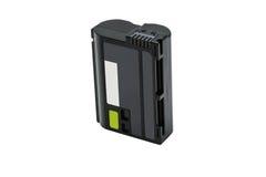 Lítio preto Ion Battery Pack Isolated Fotos de Stock