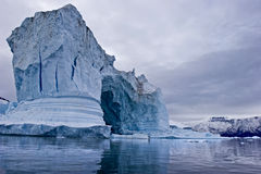 lód góruje Zdjęcia Stock
