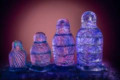 Lód gniazdować lale Zdjęcia Royalty Free