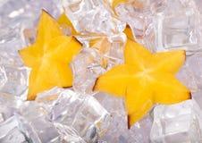 lód gwiazdy Zdjęcia Royalty Free