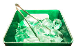 Lód i zbiornik Obrazy Royalty Free