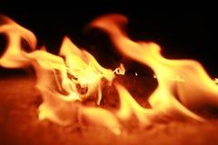 lód ognia zdjęcia royalty free