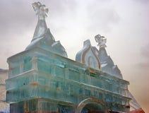 Lód postacie w Moskwa Zdjęcie Stock