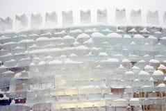 Lód postacie w Moskwa Fotografia Stock