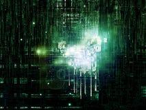 Lógica artificial Imagen de archivo