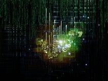 Lógica artificial Fotografía de archivo
