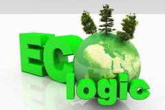 Lógica de ECO Foto de archivo libre de regalías