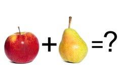Lógica de las matemáticas Imagen de archivo
