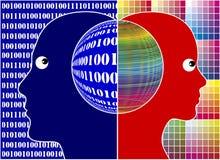 Lógica e faculdade criadora Imagens de Stock