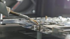 lödande station thermocouple som löder stationen lager videofilmer