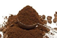 Löffel des Kaffees Lizenzfreie Stockfotos