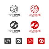 Löffel und Gabel Logo Icon Lizenzfreie Stockbilder