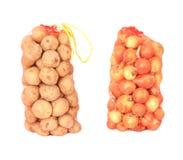 Lökar och potatisar Royaltyfri Bild