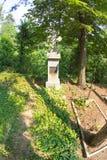 lökformig Rysk kyrkogård i Shipka Arkivbild
