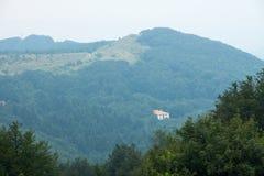 lökformig Shipka Passerande i Balkansna Arkivbild