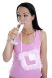 lömsk drink Fotografering för Bildbyråer