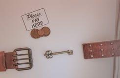 Lön för allt arkivbild