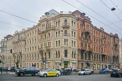 Lönande hus av Muruzi i St Petersburg, Ryssland Royaltyfria Bilder