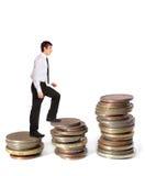 löneförhöjning Arkivbild