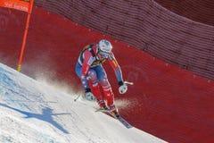 LÖNN Wiley i Audi FIS alpina Ski World Cup - mäns sluttande rommar fotografering för bildbyråer