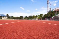 löparbana Fotografering för Bildbyråer
