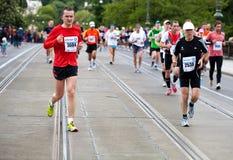 löpare för pim för brohopalack Royaltyfri Foto
