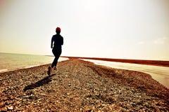 Löpareidrottsman nenspring fotografering för bildbyråer