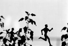 löparetrofé Fotografering för Bildbyråer