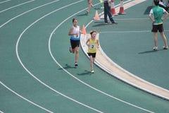 Löpartävlingar under den 6th Hong Kong Games royaltyfria foton